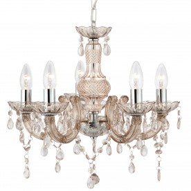 MARIE THERESE - 5LT CEILING MINK GLASS/ACRYLIC