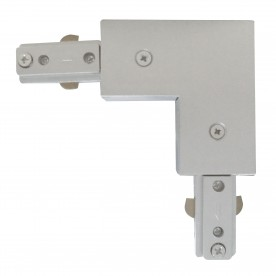 SPOT & TRACK - SILVER 'L' CONNECTOR FOR THE TRACKS