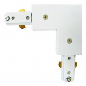 SPOT & TRACK - WHITE 'L' CONNECTOR FOR THE TRACKS
