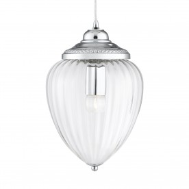 LINEN 9LT MULTI DROP PENDANT CHROME