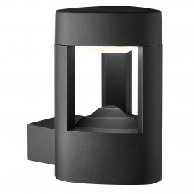 MICHIGAN LED OUTDOOR WALL BRACKET - DARK GREY