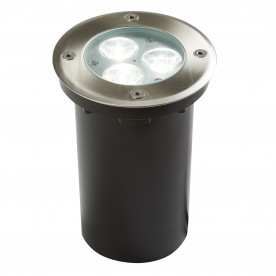 LED OUTDOOR/INDOOR  RECESSED - WALKOVER - STAINLESS STEEL WHITE LED