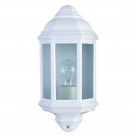 OUTDOOR & PORCH WALL LIGHT WHITE FLUSH