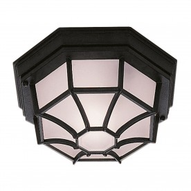 OUTDOOR & PORCH - BLACK FLUSH LIGHT