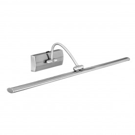 PICTURE LIGHT - 81xLED SATIN SILVER ADJUSTABLE HEAD