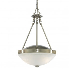 REGENCY 2LT AB PENDANT-MARBLE GLASS