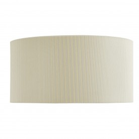 DRUM PLEAT - 2LT WALL BRACKET CREAM PLEATED SHADE