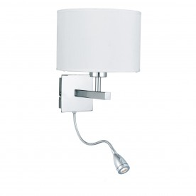 WALL LIGHT - DUAL ARM CC - LED FLEXI ARM