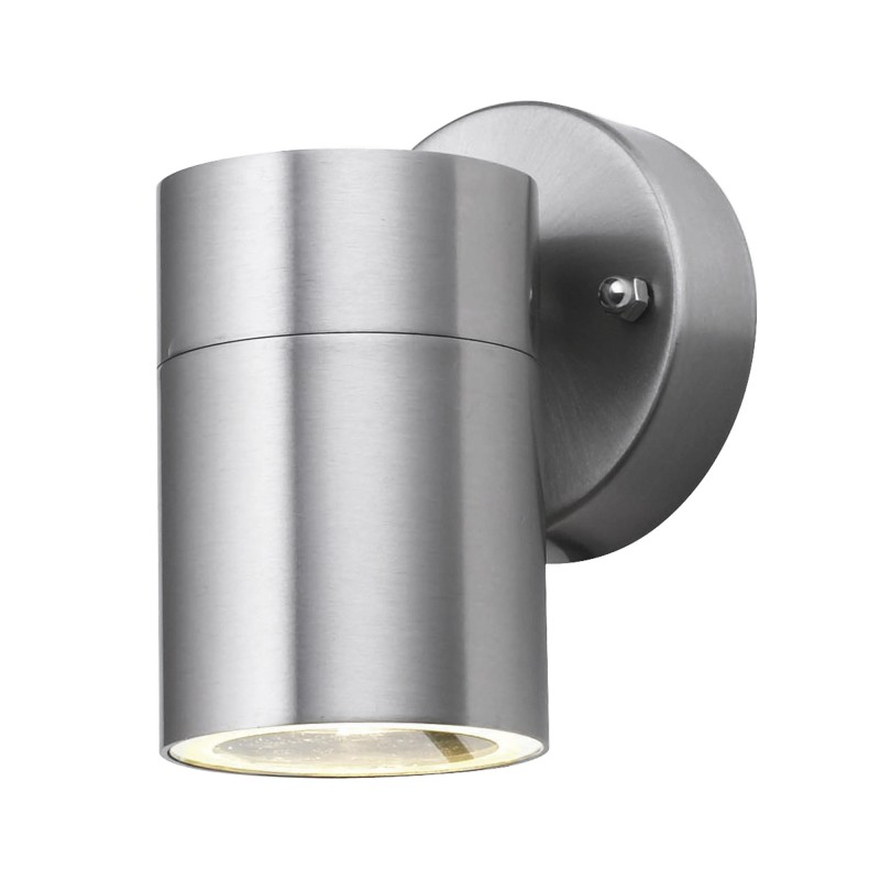 OUTDOOR & PORCH (GU10 LED) WALL 1LT STAINLESS STEEL TUBE