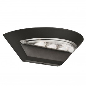 MISSISSIPPI SEMI-CIRCLE WALL BRACKET - DARK GREY