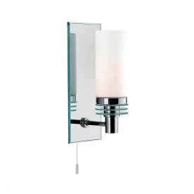 LIMA  - BATHROOM - 1LT (G9 LED) CC/GLASS MIRRORED BACKPLATE WB IP44