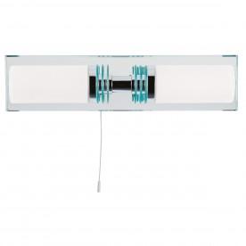 LIMA  - BATHROOM - 2LT (G9 LED) CC/GLASS MIRRORED BACKPLATE WB IP44