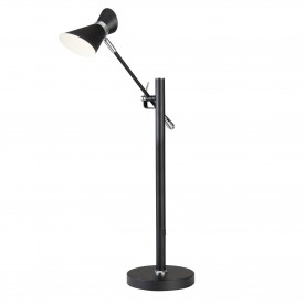 SPOTLIGHT - DIABLO LED TABLE LAMP MATT BLACK CHROME & WHITE