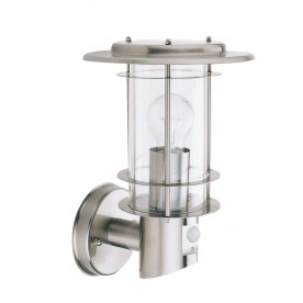 OUTDOOR & PORCH  WALL LIGHT STAINLESS STEEL CW SENSOR