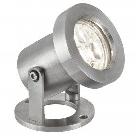 OUTDOOR LED IP65 3 x 1W STAINLESS STEEL SPOTLIGHT