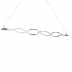 PLATT - LED WAVE PENDANT BAR CHROME