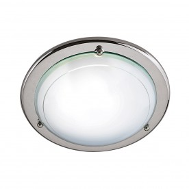 FLUSH CHROME 30cm FLUSH C/FTG