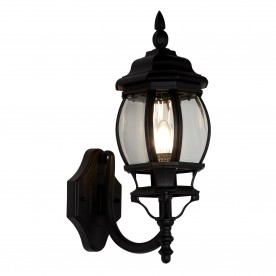 BEL AIRE BLACK OUTDOOR WALL LIGHT