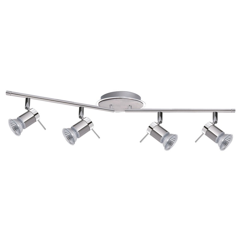 ARIES (GU10 LED) IP44 4LT CC SPOTLIGHT BAR