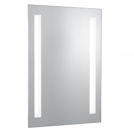 MIRROR BATHROOM LIGHT IP44 - 2LT TOUCH BATHROOM MIRROR WITH SHAVER SOCKET