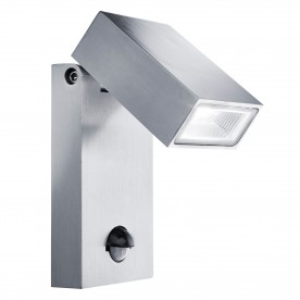 OUTDOOR LED ALUMINIUM WALL BRACKET PIR SENSOR