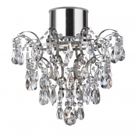 HANNA BATHROOM (GU10 LED) IP44 CHANDLIER K5 CRYSTALS