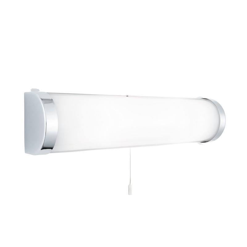 POPLAR BATHROOM LT - 2LT CHROME WB - WHITE GLASS TUBE IP44