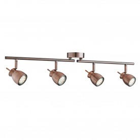 JUPITER 4LT ANTIQUE COPPER SPLIT BAR