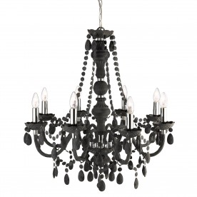 MARIE THERESE - 8LT CEILING CHARCOAL GREY ACRYLIC