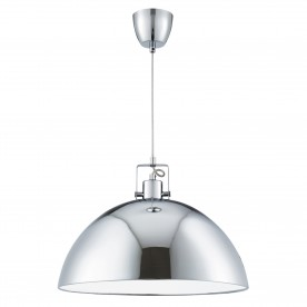 METAL PENDANT 1LT CHROME DOME