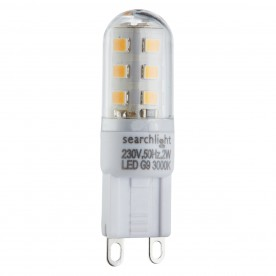 LED LAMPS PACK 10 x G9 - 2W 200 LUMENS WARM WHITE