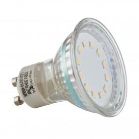 LED LAMPS PACK 10 x GU10 - 3W 240 LUMENS COOL WHITE