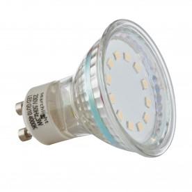 LED LAMPS  PACK 10 x GU10 - 3W 240 LUMENS WARM WHITE