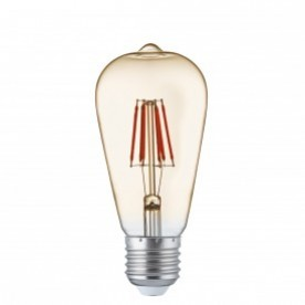 LED LAMPS PACK x 10 - DIMMABLE E27 LED FILAMENT CANDLE - 4.5W 400LM WARM WHITE 2700K