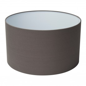 SWING ARM XL - SHADE ONLY - GREY DRUM SHADE (Dia 40cm)