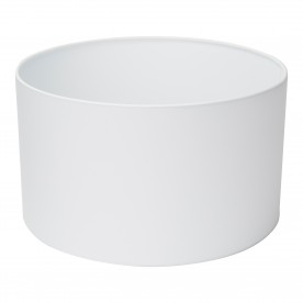 SWING ARM XL - SHADE ONLY - WHITE DRUM SHADE (Dia 40cm)