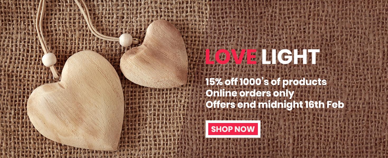 Valentine 15% Specials