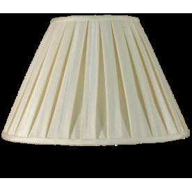 """10"""" Box Pleat Ivory Lamp Shade"""