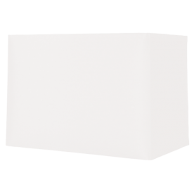 Rectangle Ivory Card Shade 8""