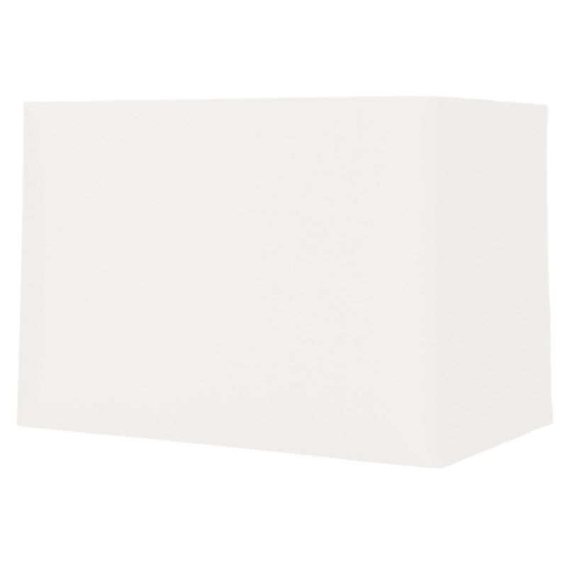 Rectangle Ivory Card Shade 12""
