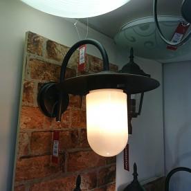 Edam Black Outdoor Wall Light